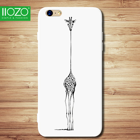 Giraffe Design Soft iPhone Case - My iPhone Store