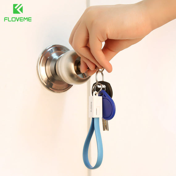 Small Key Chain Lighting Cable - My iPhone Store