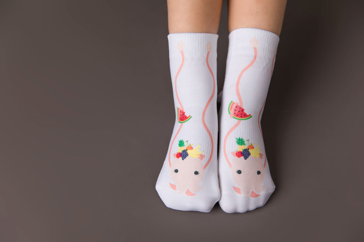 Carmen Collection - squid socks