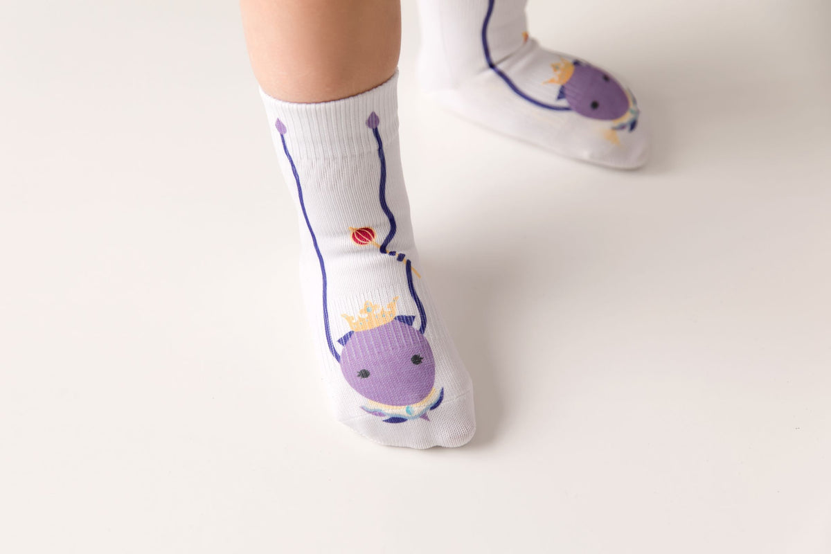 Cora Collection - squid socks