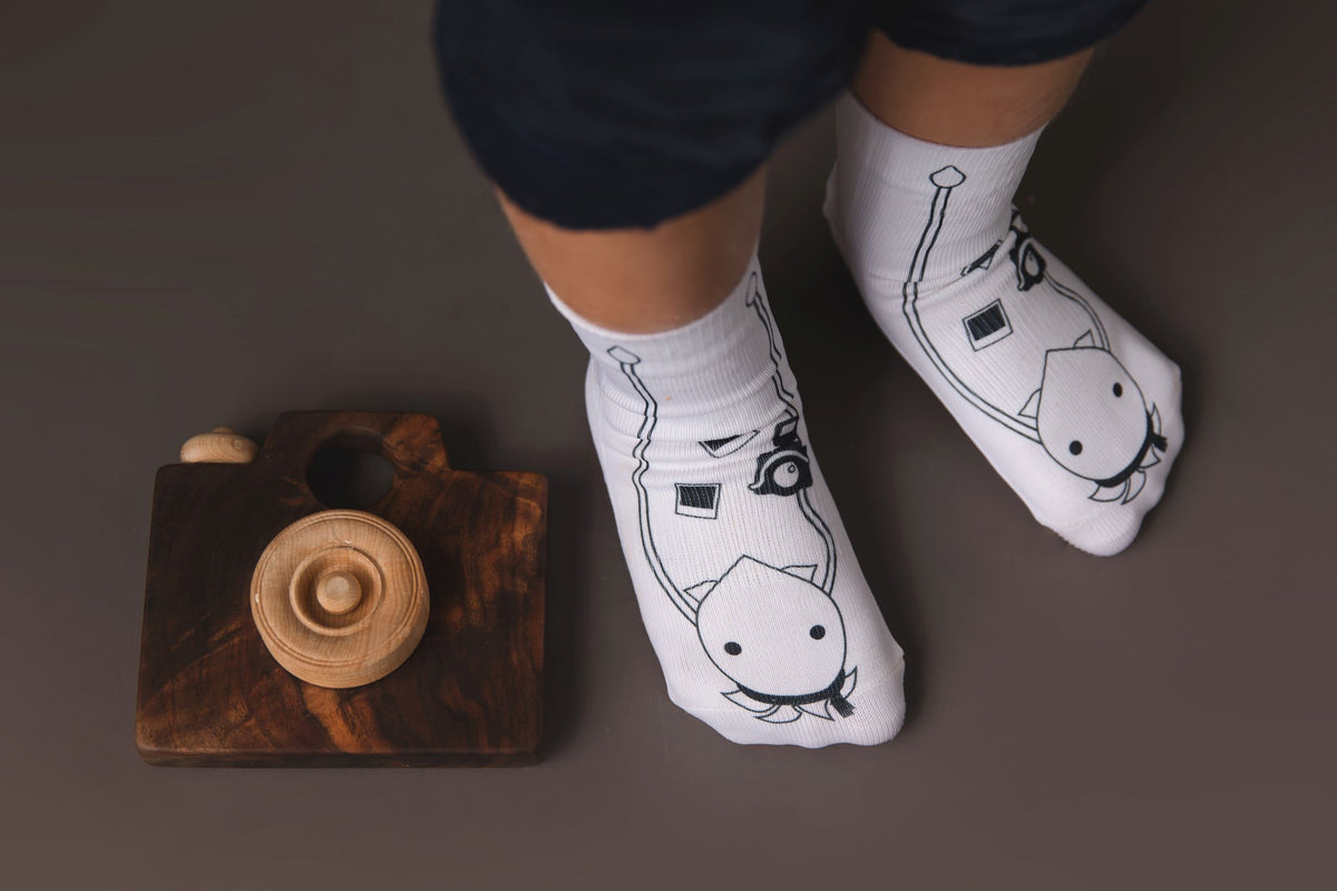 Cassidy Collection - squid socks