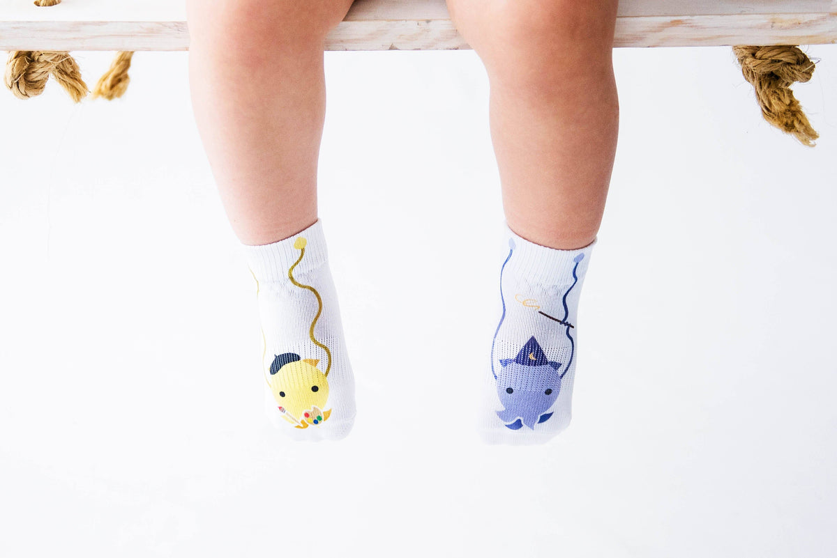 Cameron Collection - squid socks