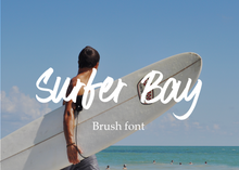 Load image into Gallery viewer, Surfer Bay font