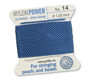Denim Blue No.14 1.02mm Nylon Power Griffin