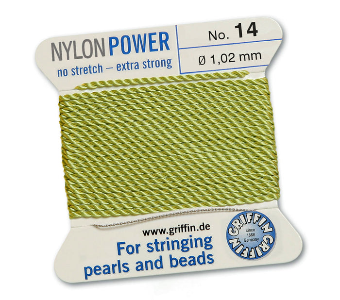 Green Apple No.10 0.9mm Nylon Knotting Cord