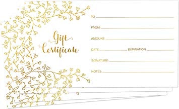 Let's help each other certificate