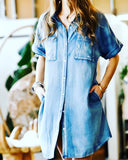 Skylar Denim Dress