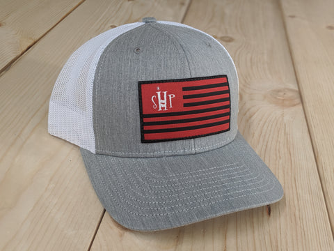 SHP Flag Patch Trucker Hat
