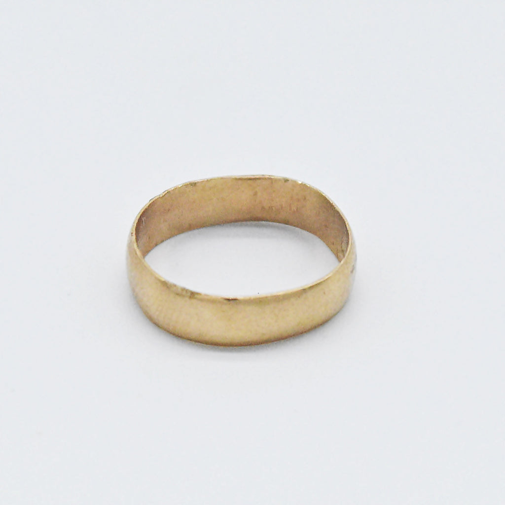 10k Yellow Gold Antique Baby Band/Ring Size 0