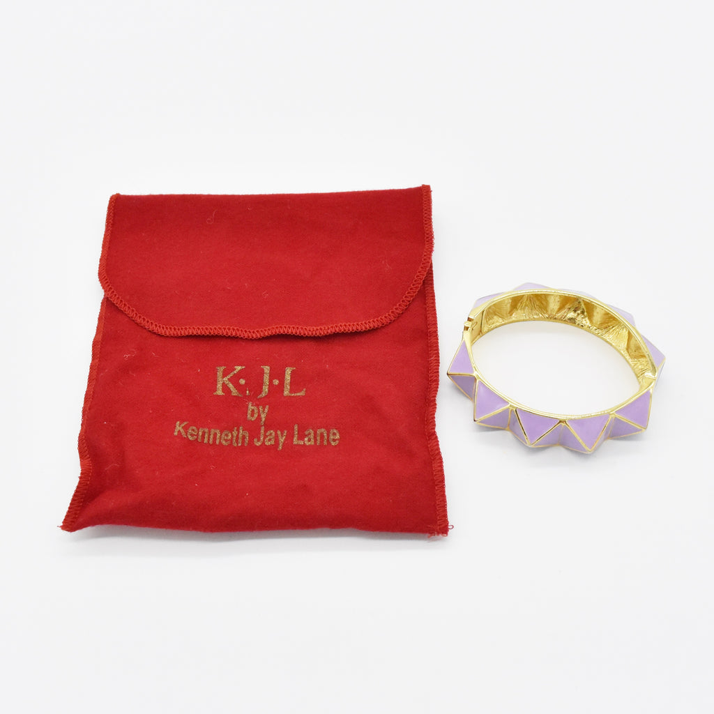 Metal KENNETH J. LANE Lavender Cairo Bracelet