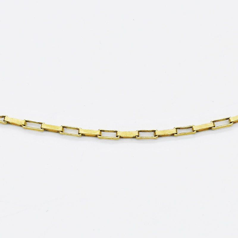 "14k Yellow Gold Estate 24"" Rolo Link Chain/Necklace"