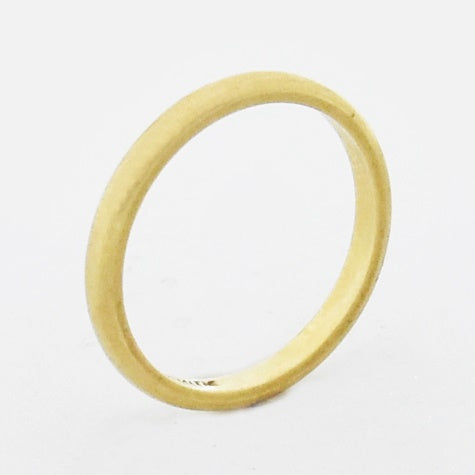 14k Yellow Gold Craftsmith Wedding Band/Ring Size 5.5