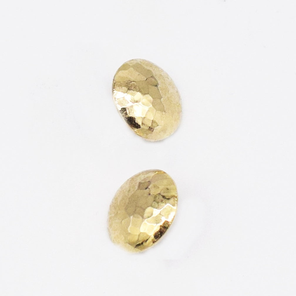 NEW Metal Rivka Friedman Polished Button Post Earrings