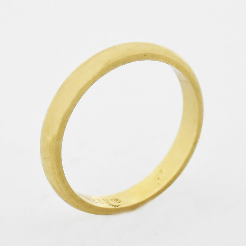 14k Yellow Gold Vintage Wedding Band/Ring Size 7.5
