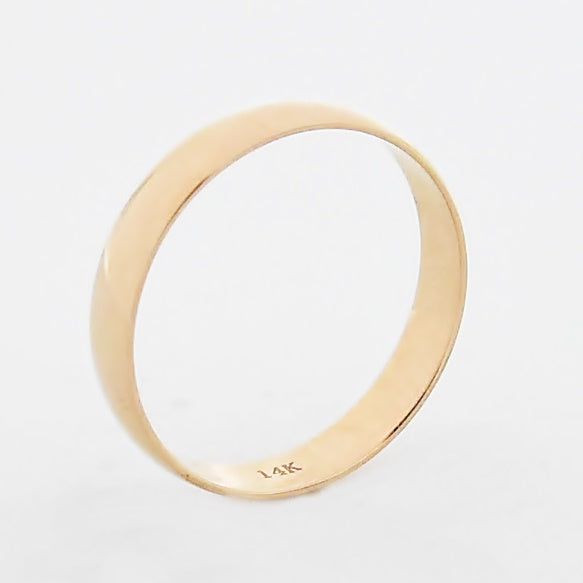 14k Rose Gold Estate Wedding Band/Ring Size 10