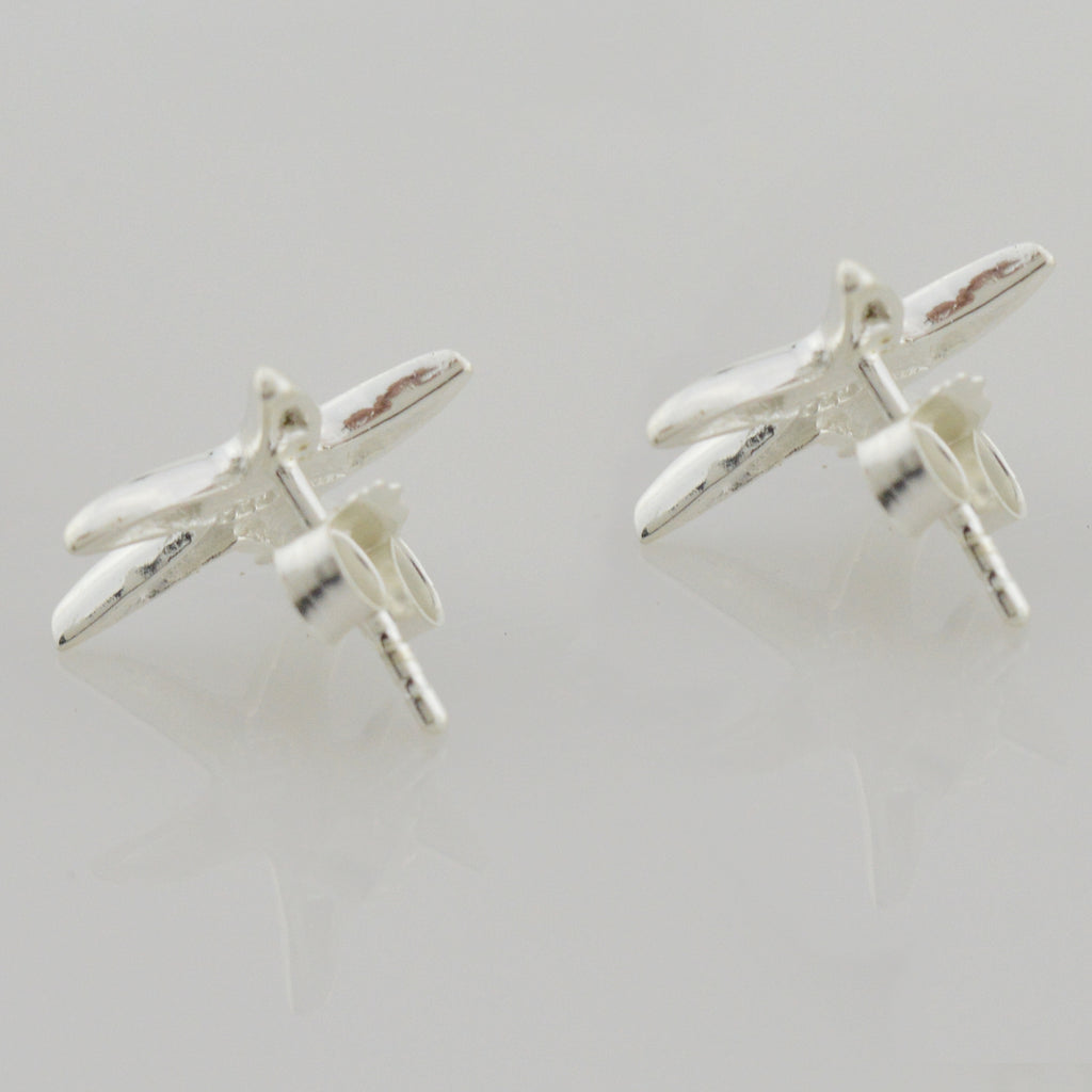 NEW Sterling Silver 925 Starfish Stud Earrings