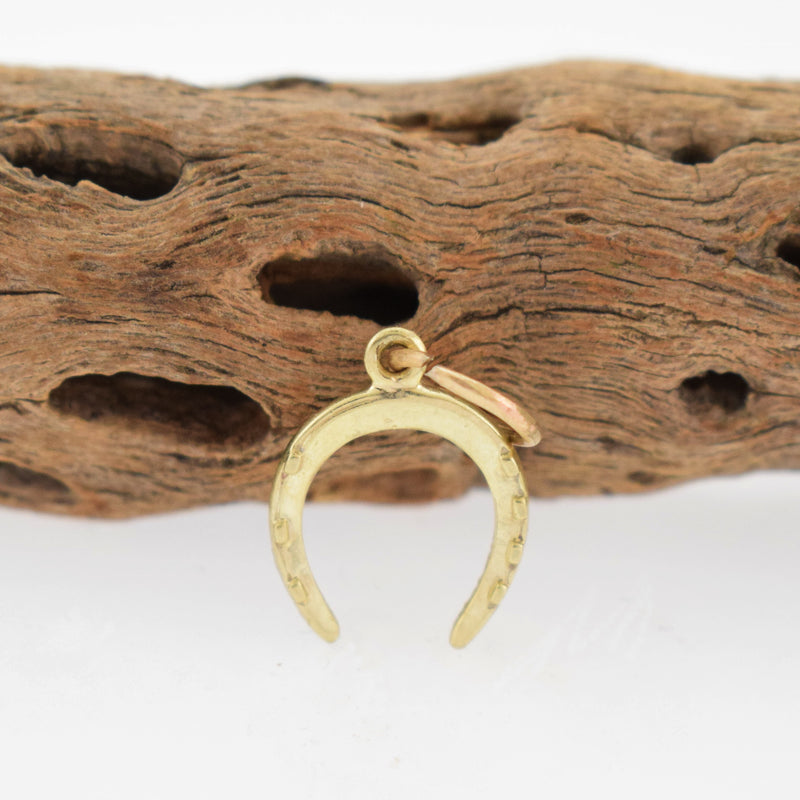 14k Yellow Gold Estate Horseshoe Charm/Pendant