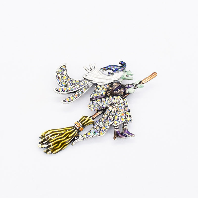 NEW Metal Kirks Folly Fancy Wicked Witch Pin