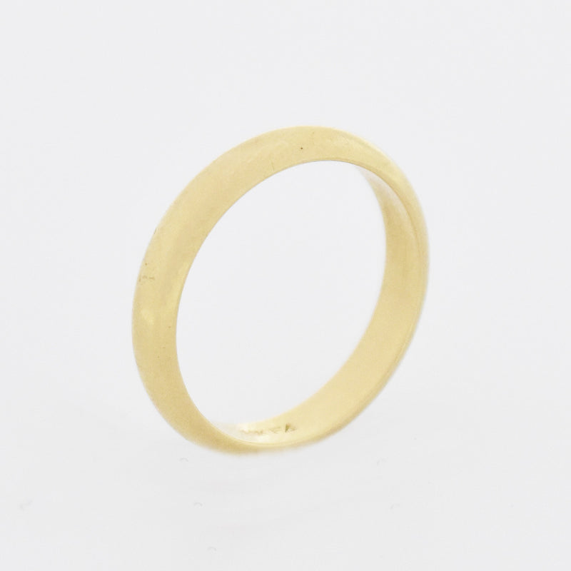 14k Yellow Gold Vintage Wedding Band/Ring Size 8
