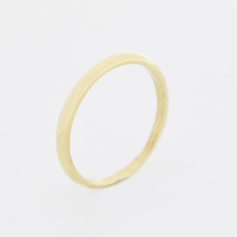 14k Yellow Gold Estate Wedding Band/Ring Size 5