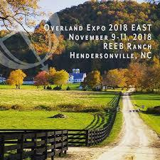 Overland Expo East: Nov 9-11, 2018