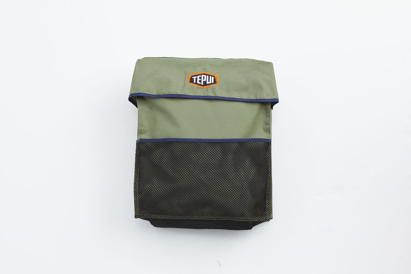 Boot Bag: Single olive green
