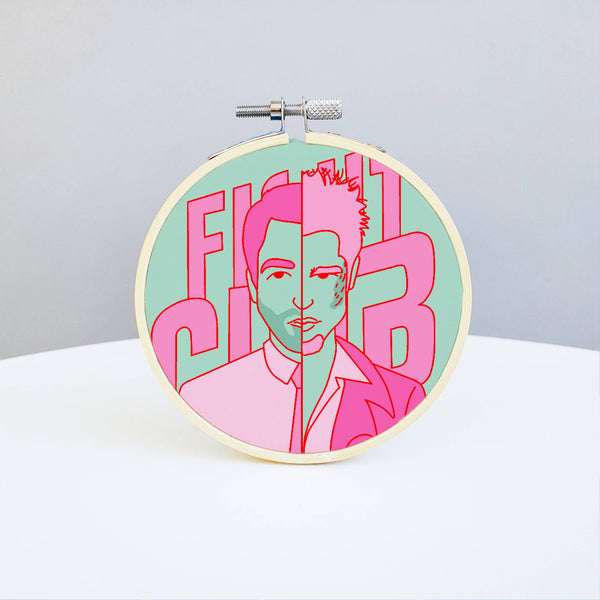 Fight Club Embroidery Kit