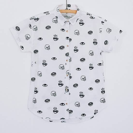 Morning Glory button up