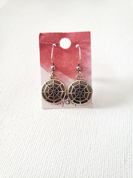 Hollydrops Web Earrings