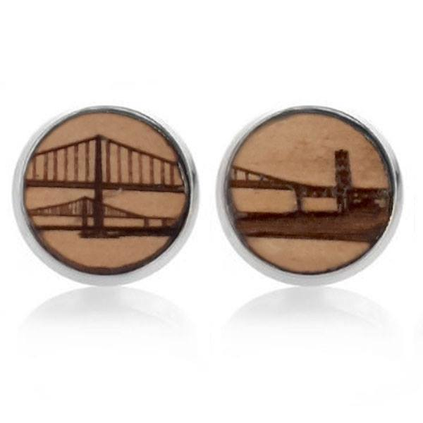 Kismet Design Earrings-Wood Bridges