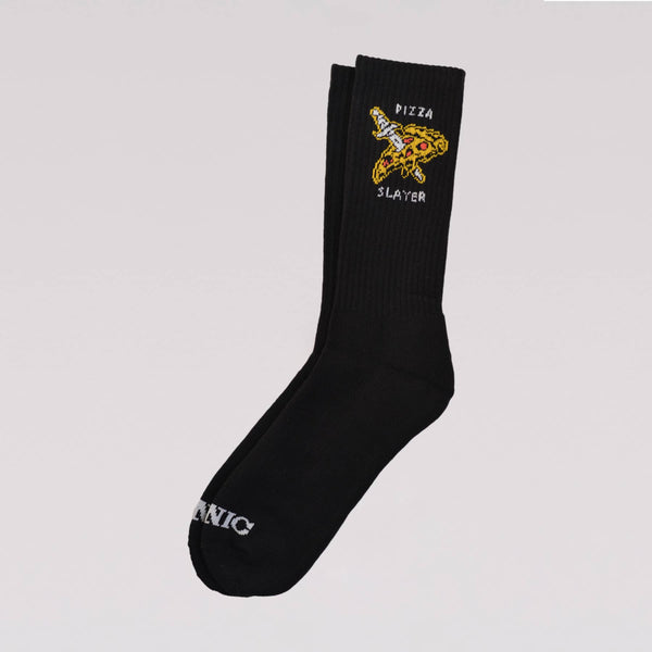 Pizza Slayer Crew socks