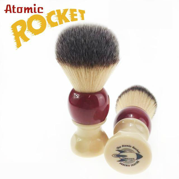 Atomic Rocket 26mm Synthetic Shaving Brush
