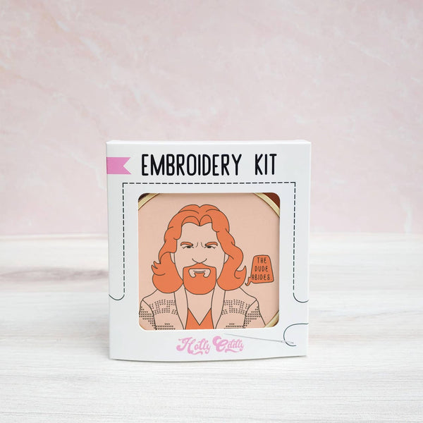 The Dude Embroidery Kit