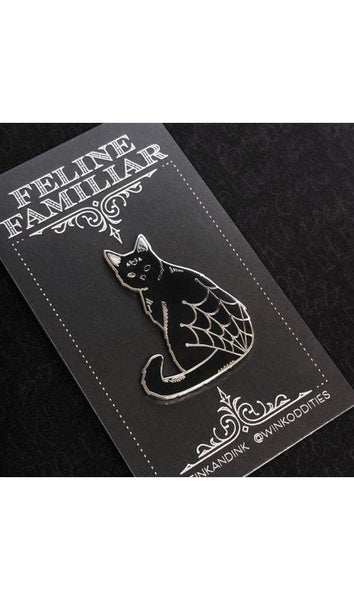 Feline Familiar Pin