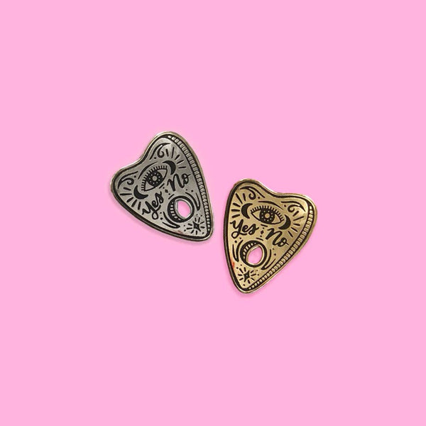 Ouija Planchette pin (GOLD)