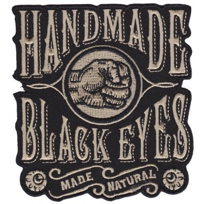 Handmade black eyes patch