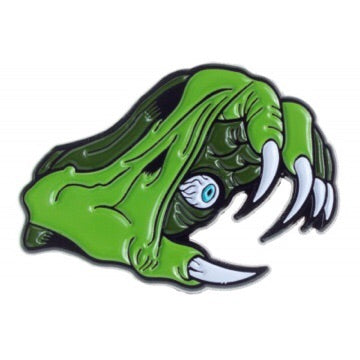 Monster hand pin