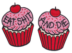 Sourpuss Cupcake patches
