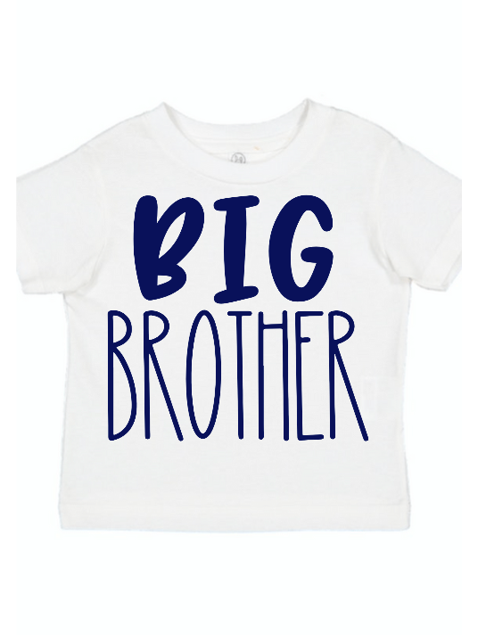 Big Brother Sibling Shirt