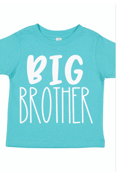 Big Brother Aqua Sibling Shirt