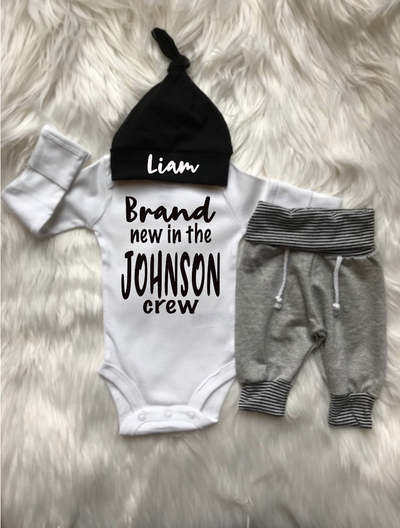 Brand New in the Crew Boy Set