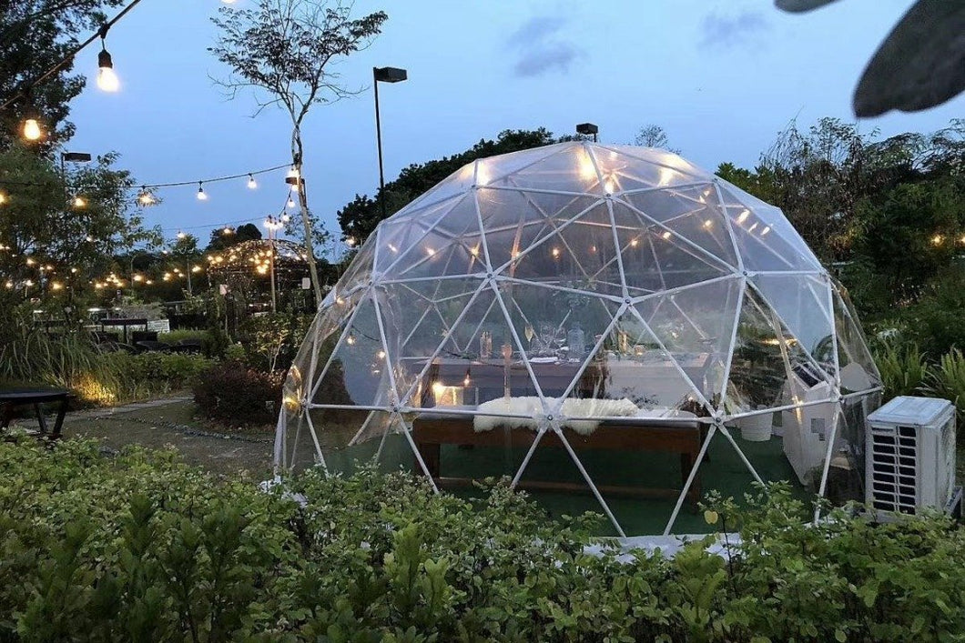 16 Ft  Restaurant / Isolation Dining Dome Backcountry Hot Tubs & Saunas