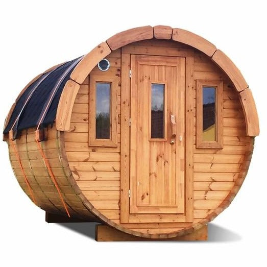 8 Ff T Thermowood Barrel Sauna - 6 Person Back Country Hot Tubs