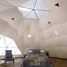 Load image into Gallery viewer, Glamping Geodesic Dome Tent Large 26' Backcountry Hot Tubs & Saunas
