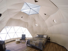 Load image into Gallery viewer, Glamping Geodesic Dome Tent Medium 20' Backcountry Hot Tubs & Saunas