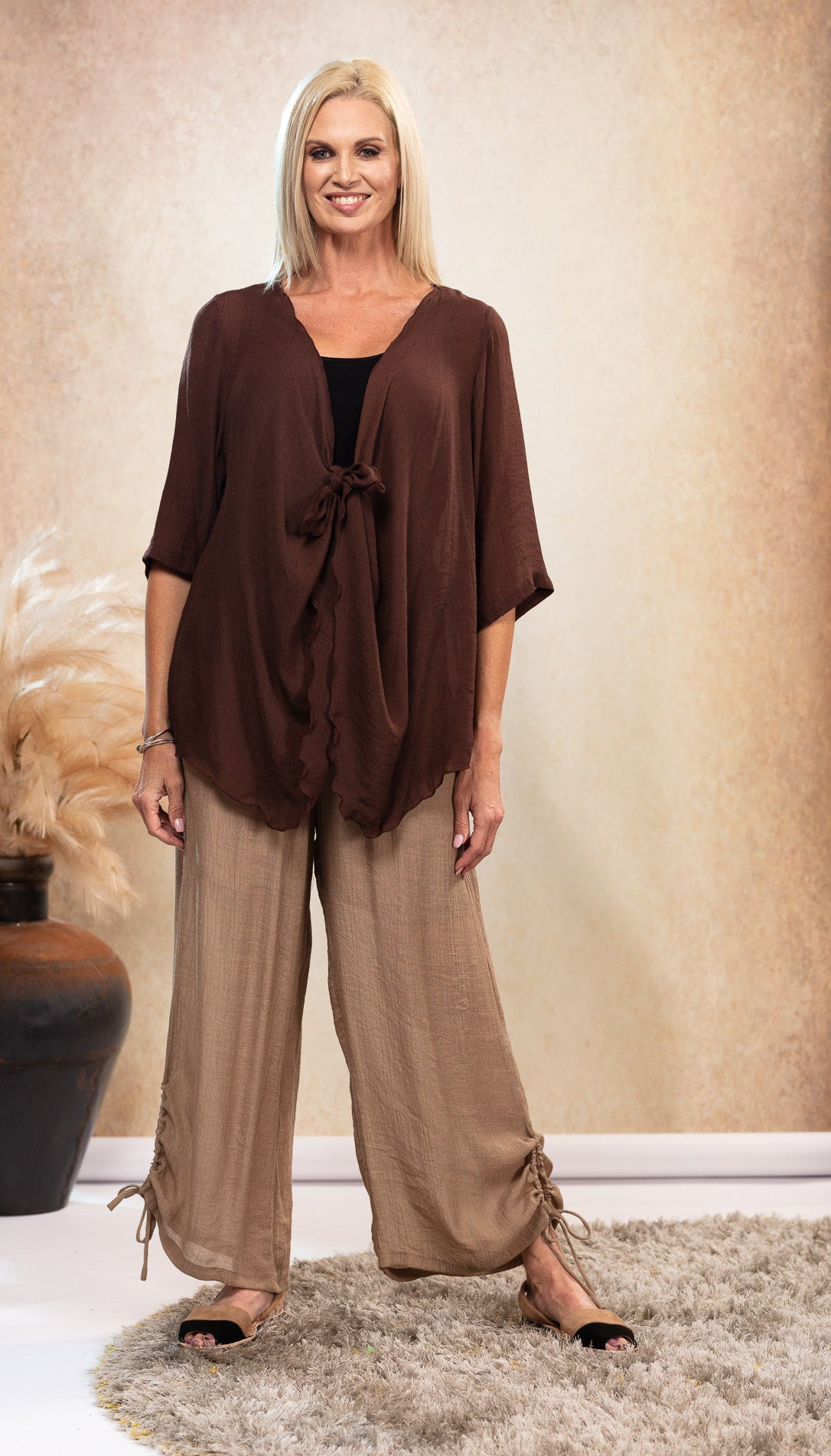 Infinity Top/Jacket NEW COLOUR Chocolate