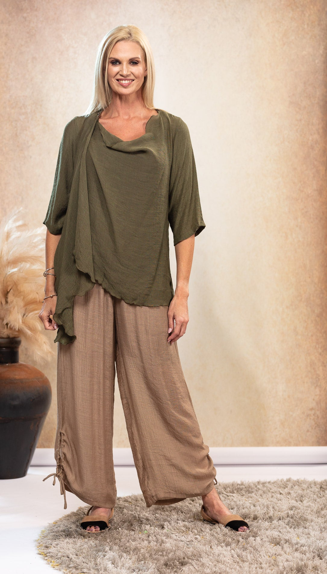 Infinity Top/Jacket NEW COLOUR Olive