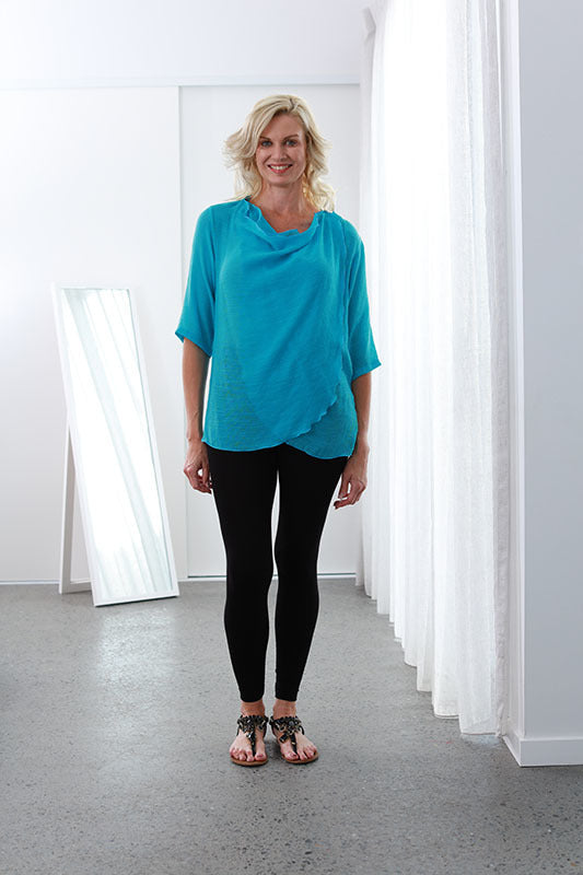 Infinity Top/Jacket Brilliant Aqua