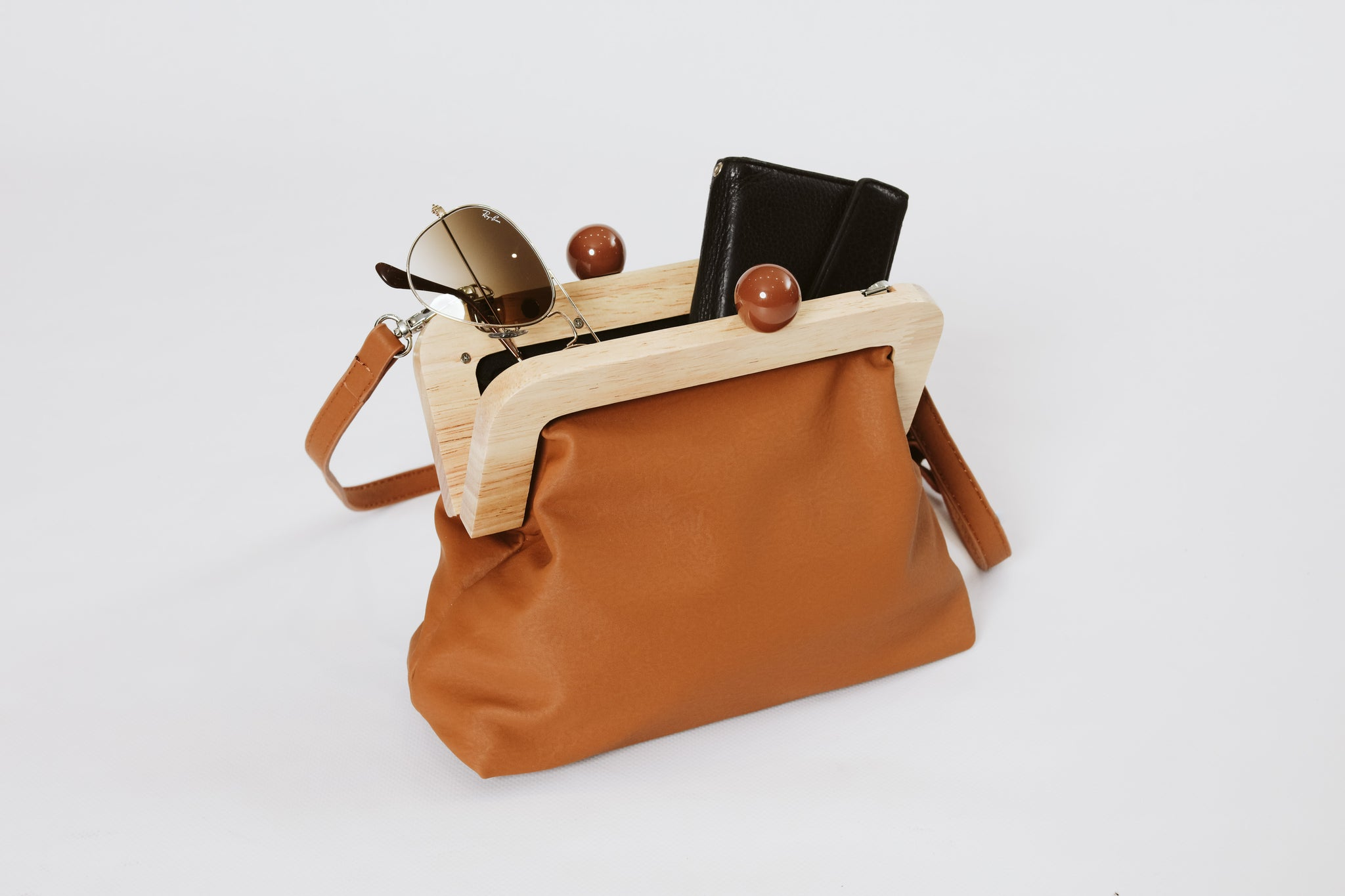 The Purse Bag Toffee Tan