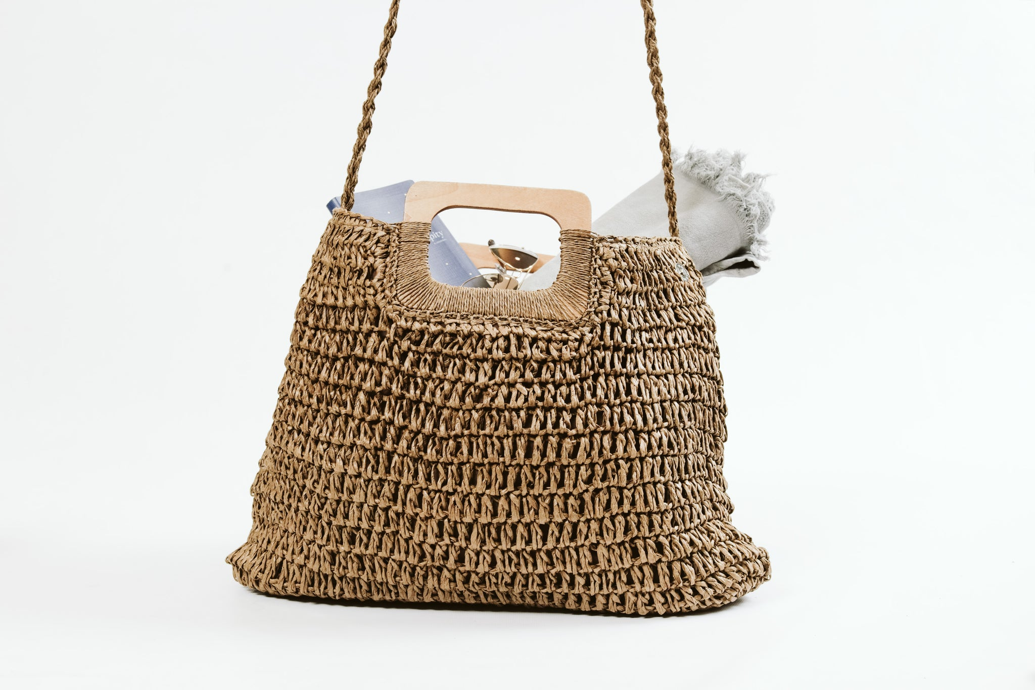 The Everyday Woven Bag Tan